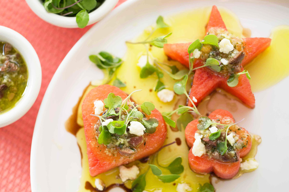 Feta Watermelon Salad Tiki Grill And Bar Photo Karen Db Photography 1200