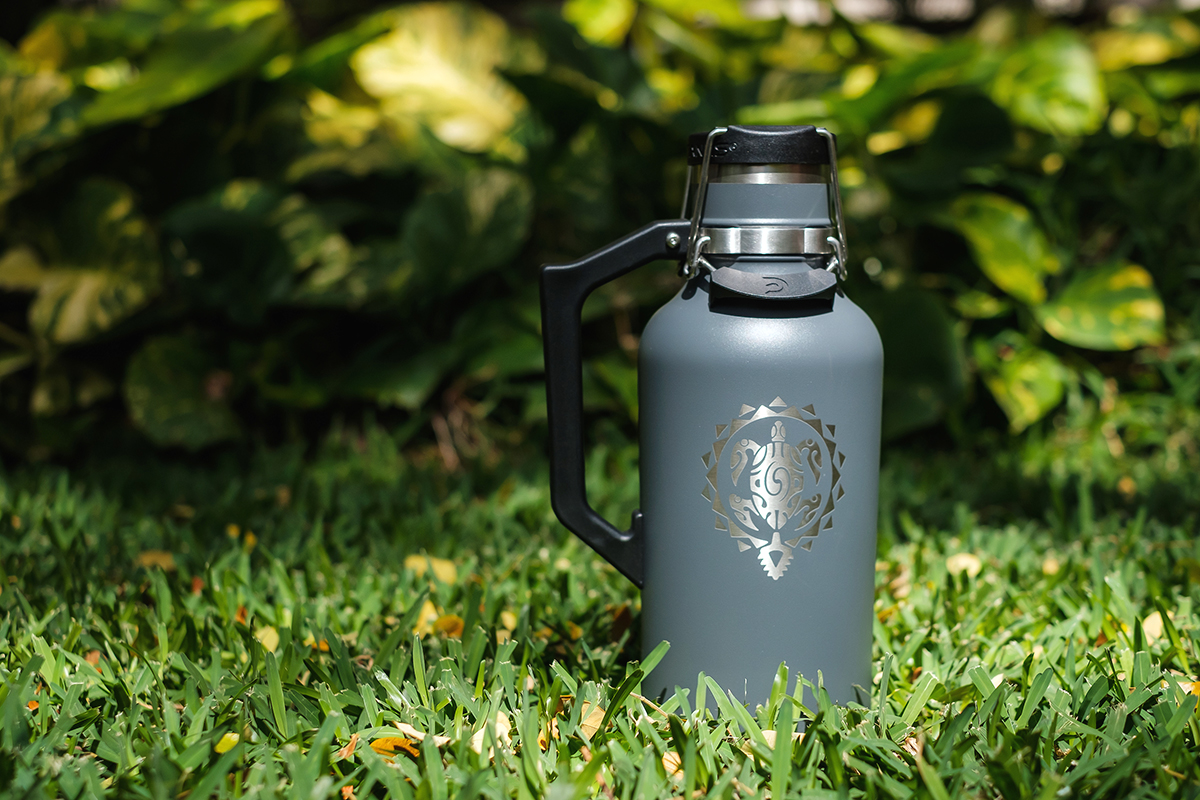 Reuseable Drink Containers Hawaii Beer Growler Maui Brewing Co