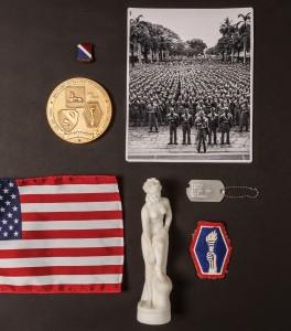 Hawaii Nisei Veterans Memorabilia Souvenirs Soldiers