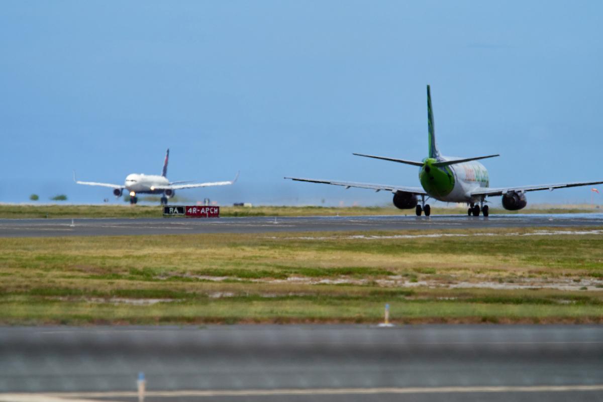 Runway at the Honolulu Airport