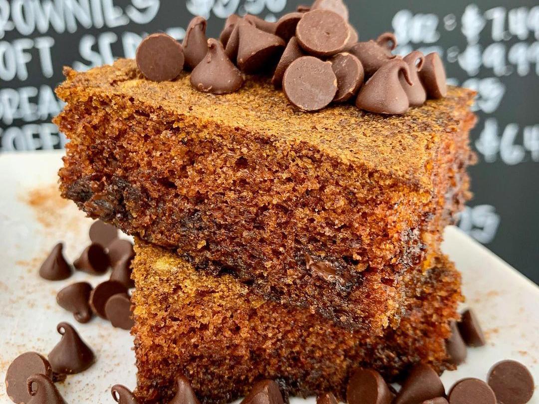 Chocolate+vanilla Pumpkin Chocolate Bread Copy