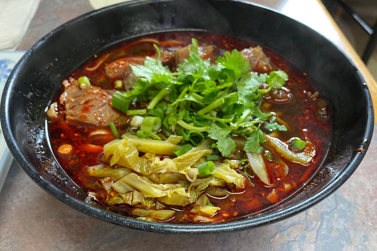 Seasons Ice Taiwanese Beef Noodle Soup Marisa Heung