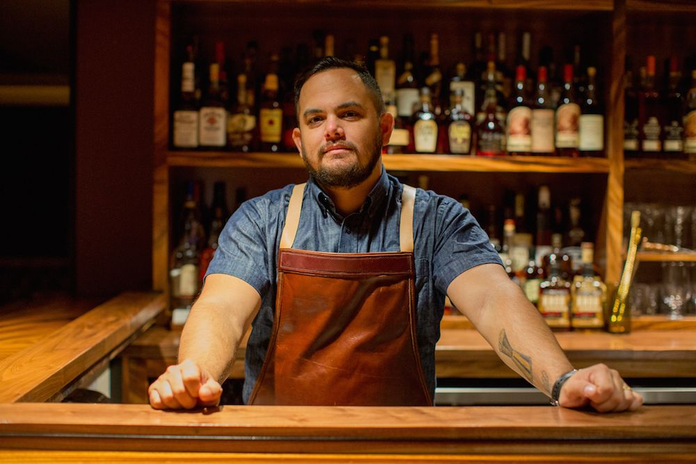 Bar Leather Apron Justin Park