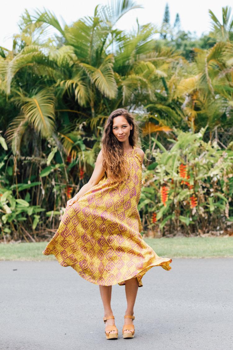 Noa Noa Hawaii Ginger Dress 2