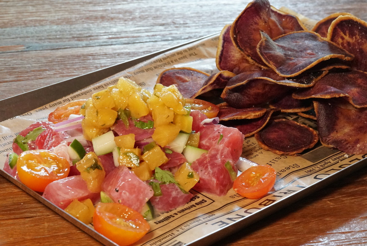 Off The Wall Ceviche