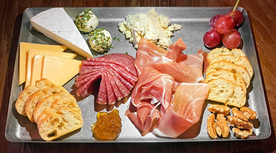 Charcuterie from Off the Wall