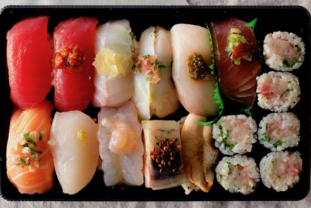 Sasabune Offers the Best Takeout Sushi Bento in Honolulu for 30 Dollars