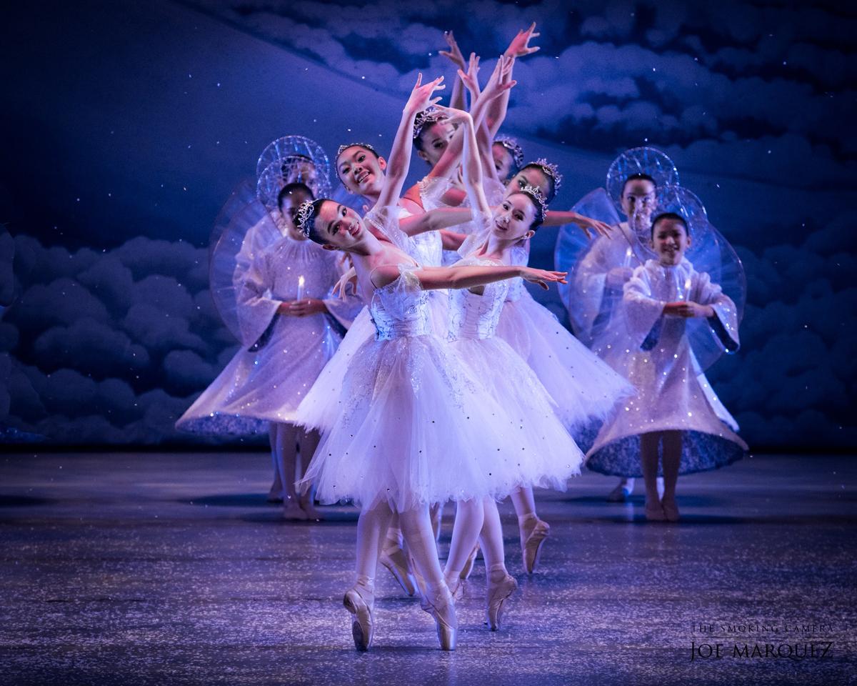 Ballet Hawaii Nutcracker Snowflakes 2019 1200