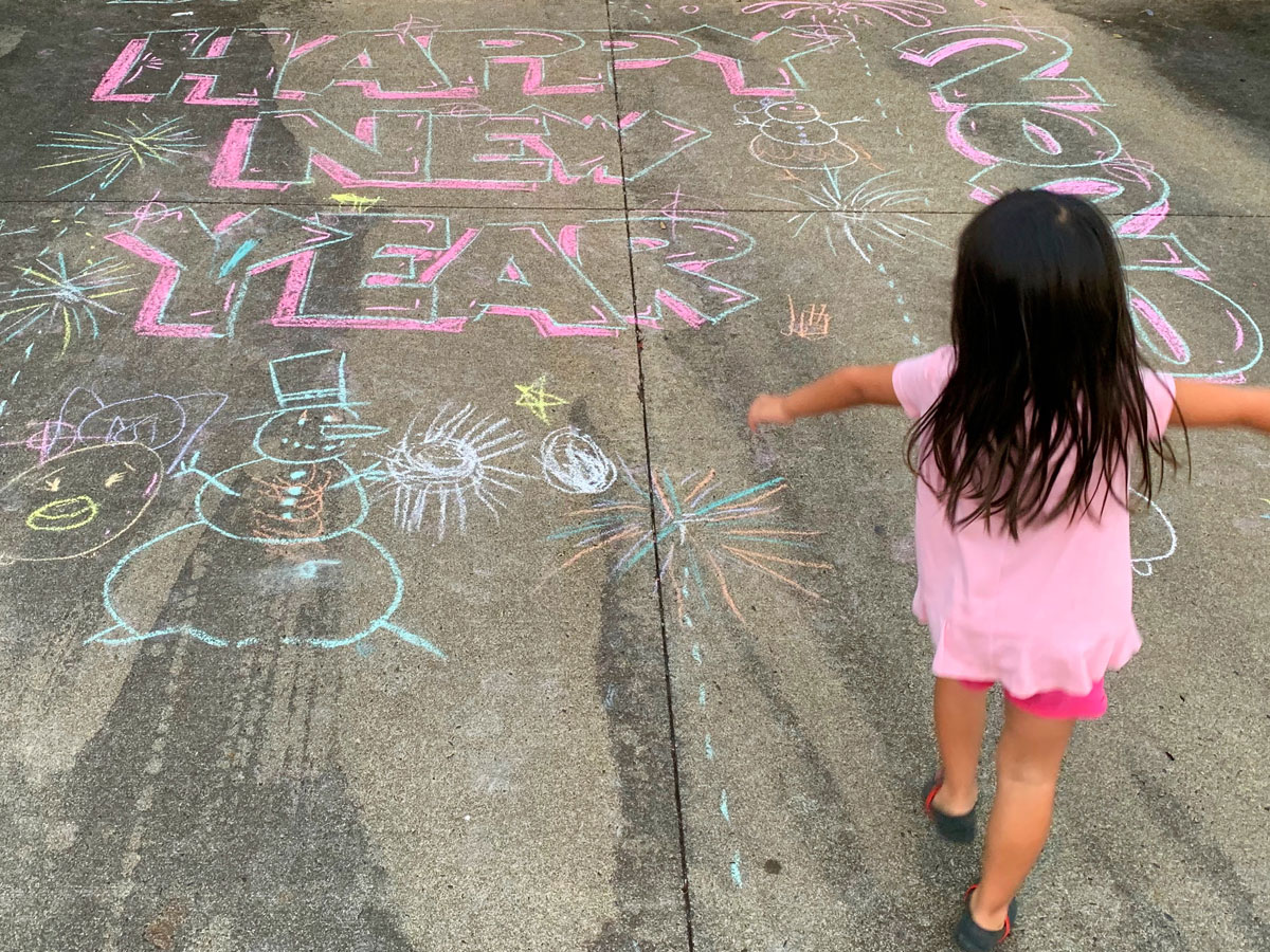 Editors Letter Jan 2021 New Year Eve Chalk