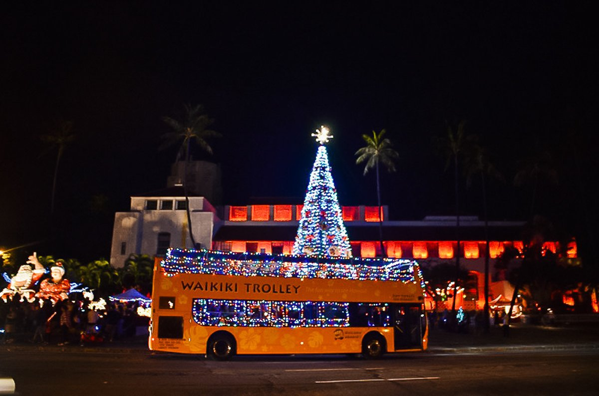 Holiday Lights Trolley