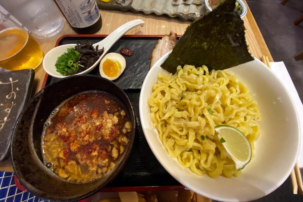 Golden Pork Tonkotsu Ramen Bar Tsukemen