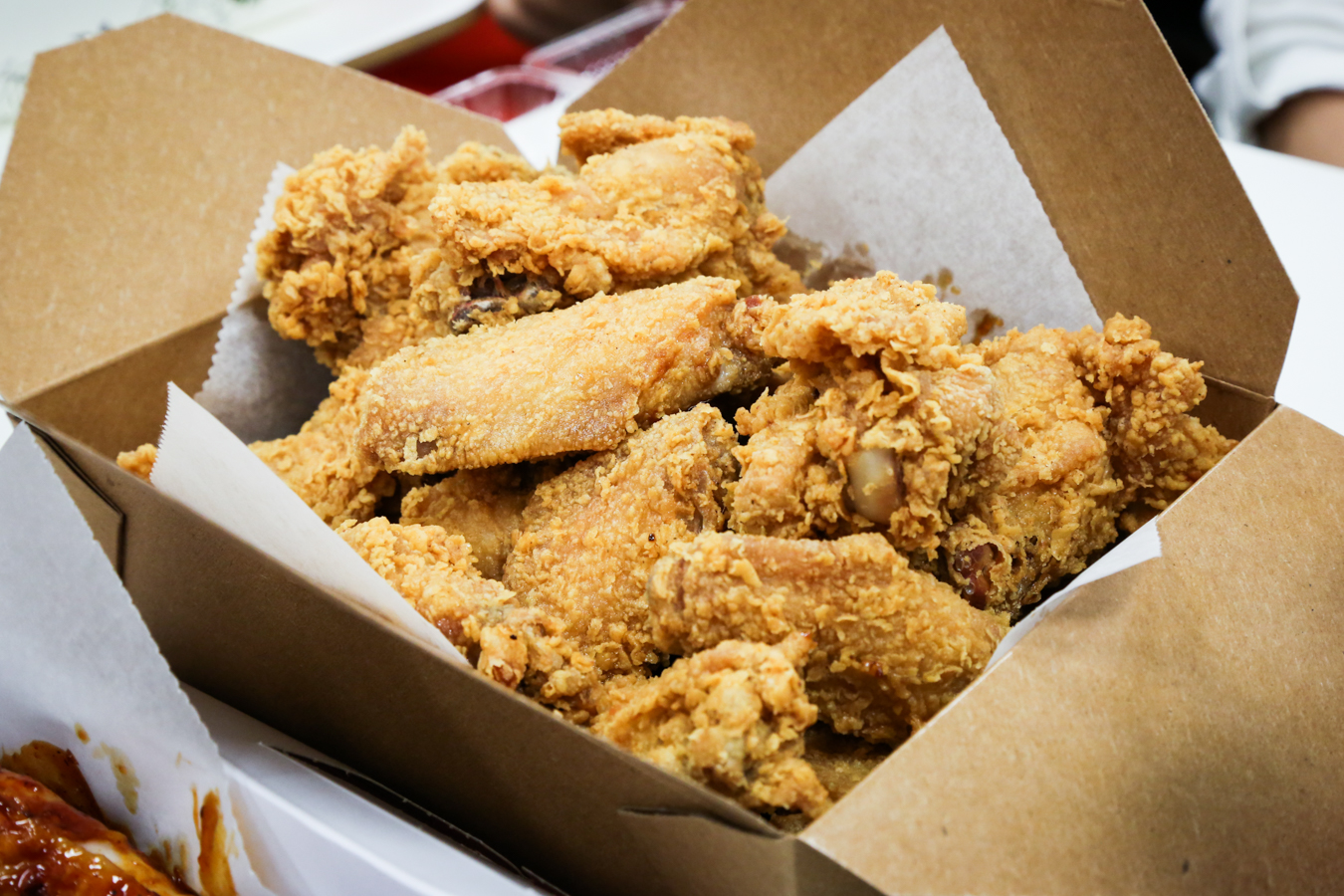A full order ($20.99) of Von's Chicken number one selling crispy fried is where it's at! Photo by Grant Shindo
