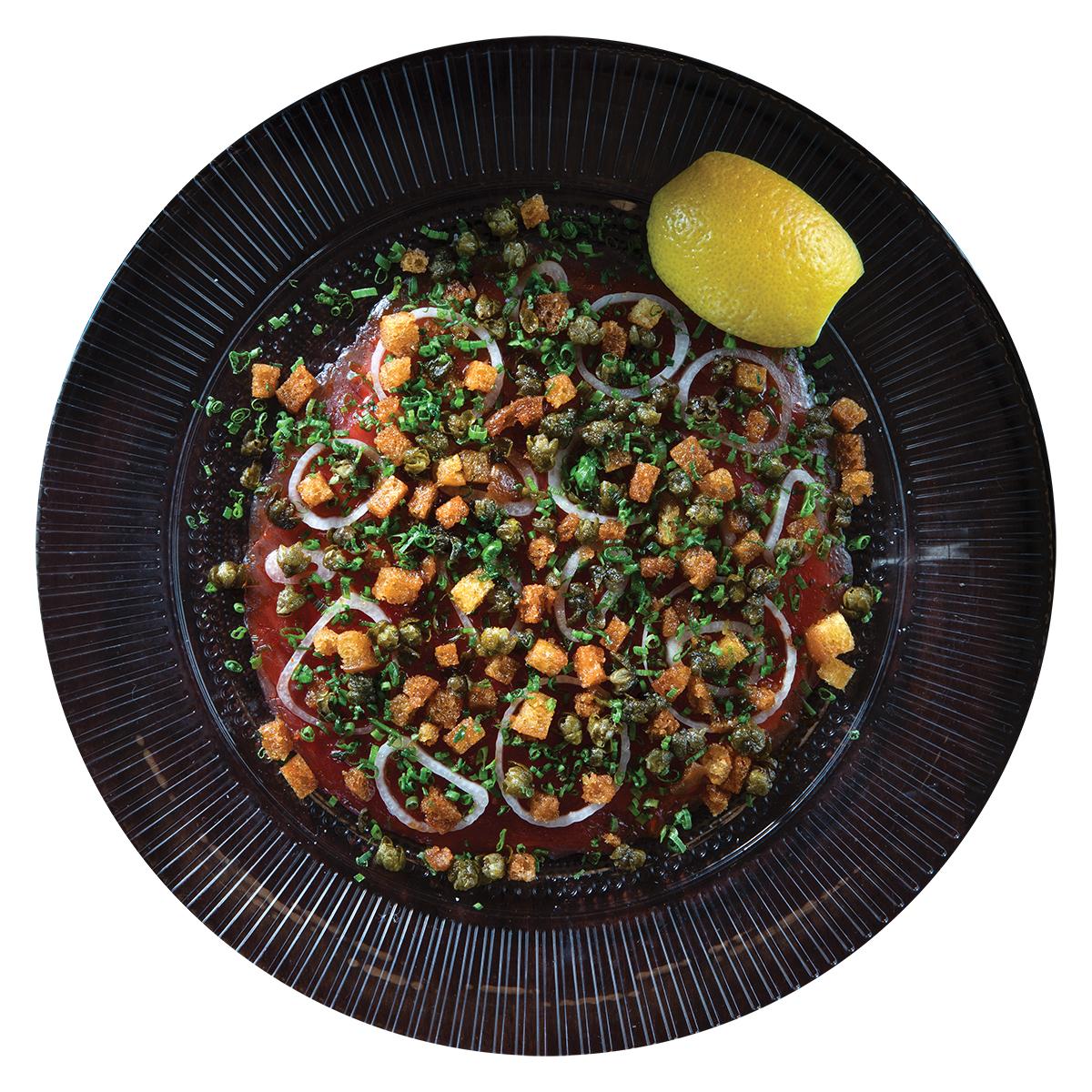 Mad Bene Ahi Carpaccio Raw Seafood Hawaii