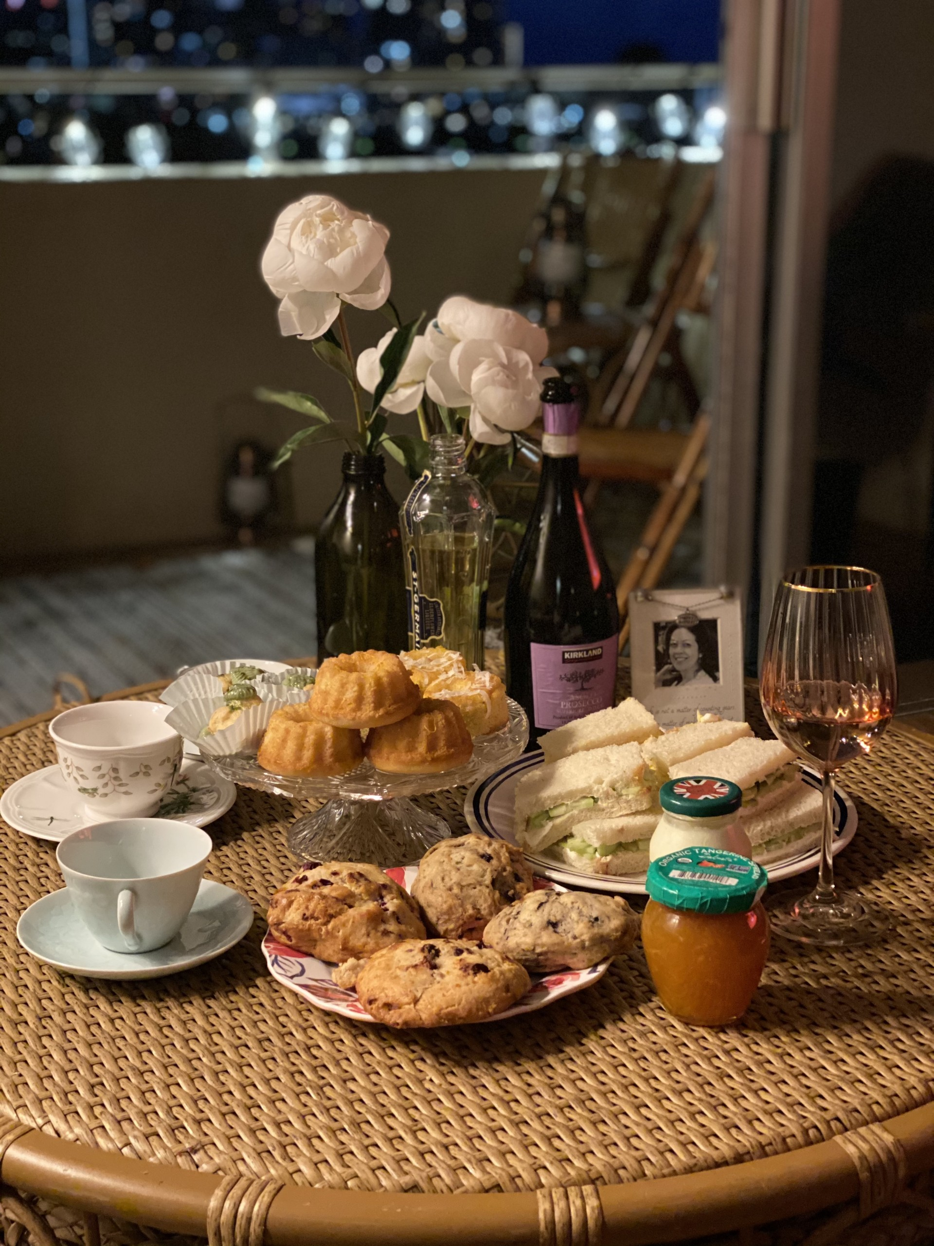 Afternoon Tea At Home With Prosecco Katie Kenny