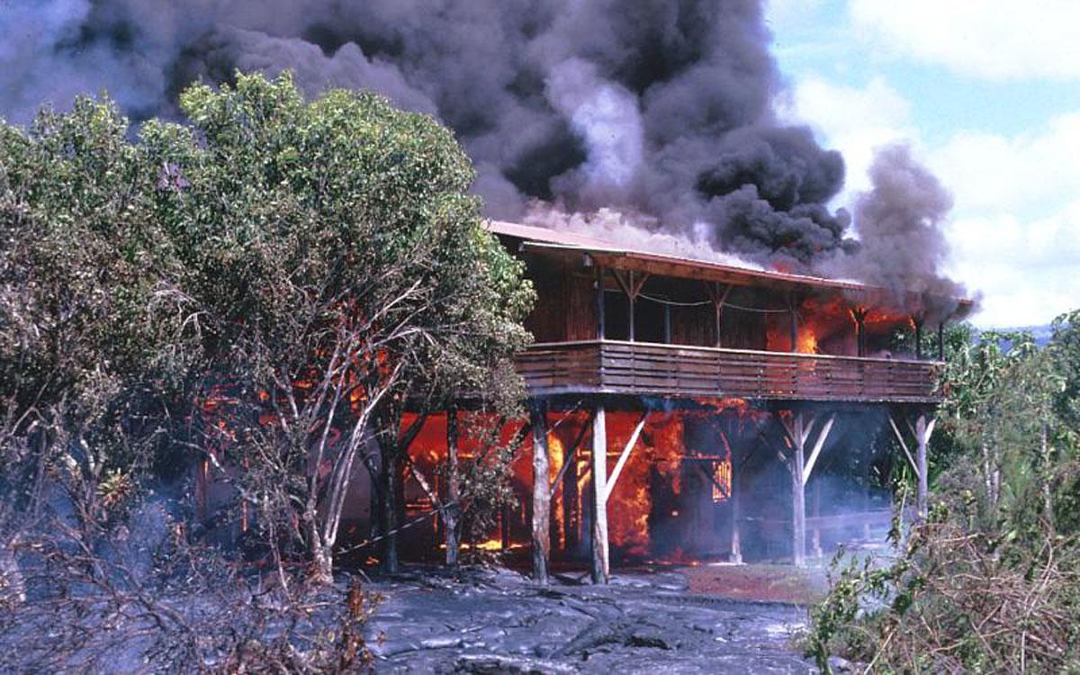 Kilauea Kalapana April 22 1990 Usgs