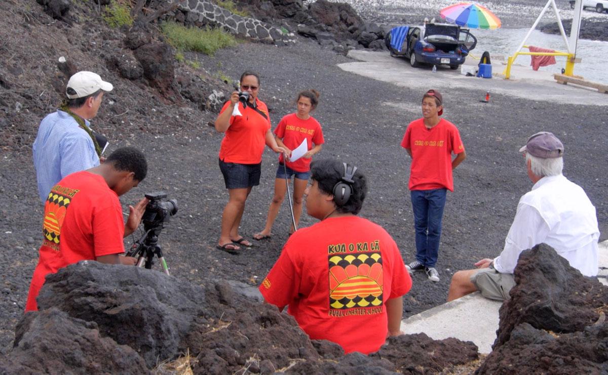 Hiki No 10 Years Robert Pennybacker Kua O Ka La Charter School Photographer Stuart Yamane