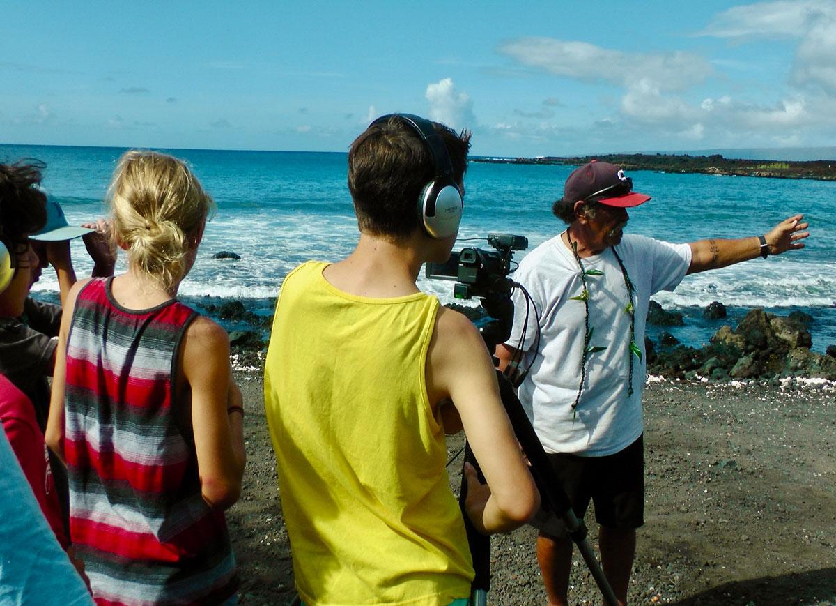 Hiki No 10 Years Student Interview Beach Courtesy Pbs Hawaii