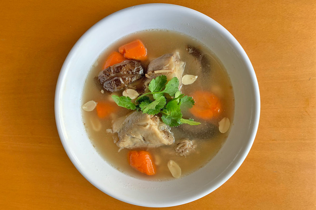 Oxtail Soup Christi Young Top Down