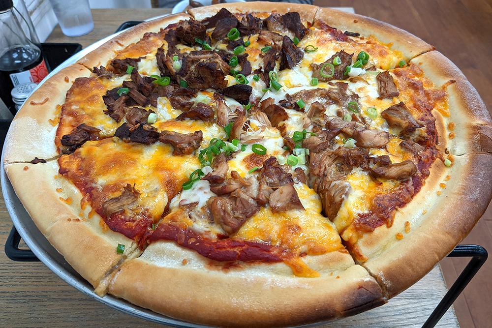 Shays Filipino Adobo Pizza Waipio