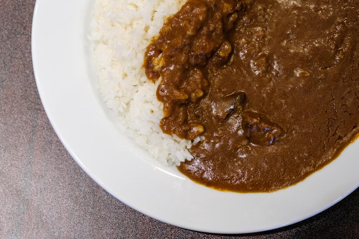 Beef Curry with Rice from Yoshoku Ginza Bairin