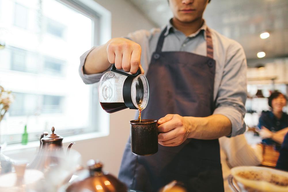 Man Preparing Coffee