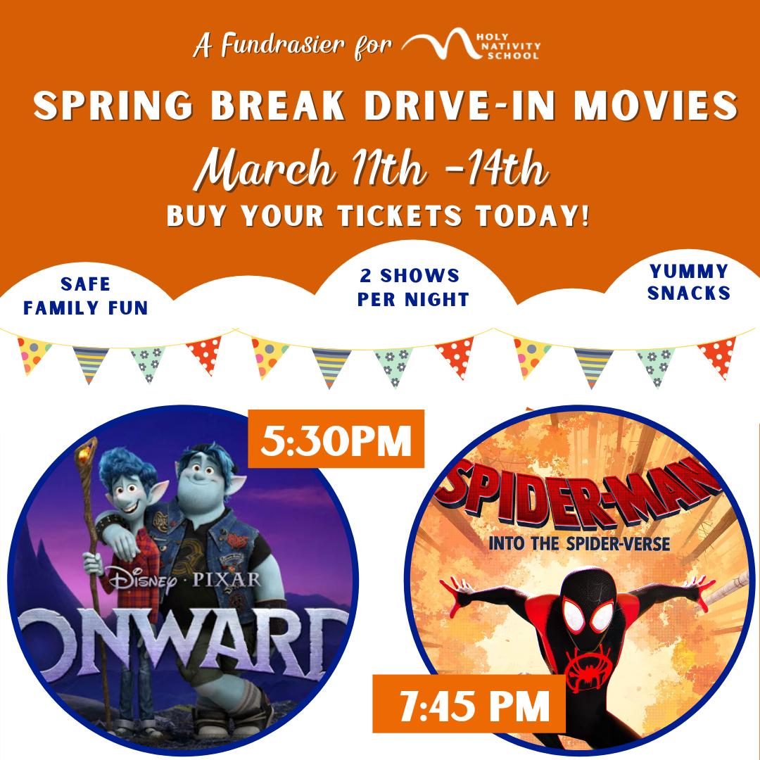 Copy Of Spring Break Movie Drive In Copy