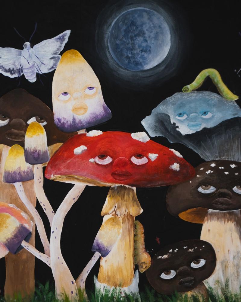 Mushroom Luna Suzuki