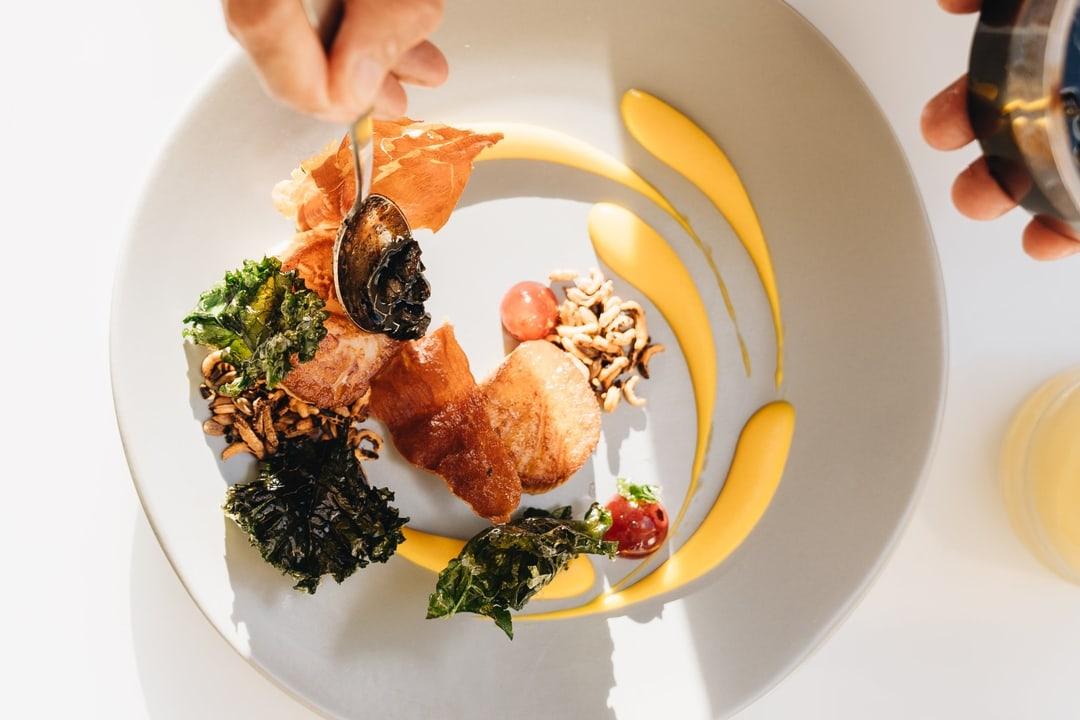 Hau Tree Restaurant Dish Plating