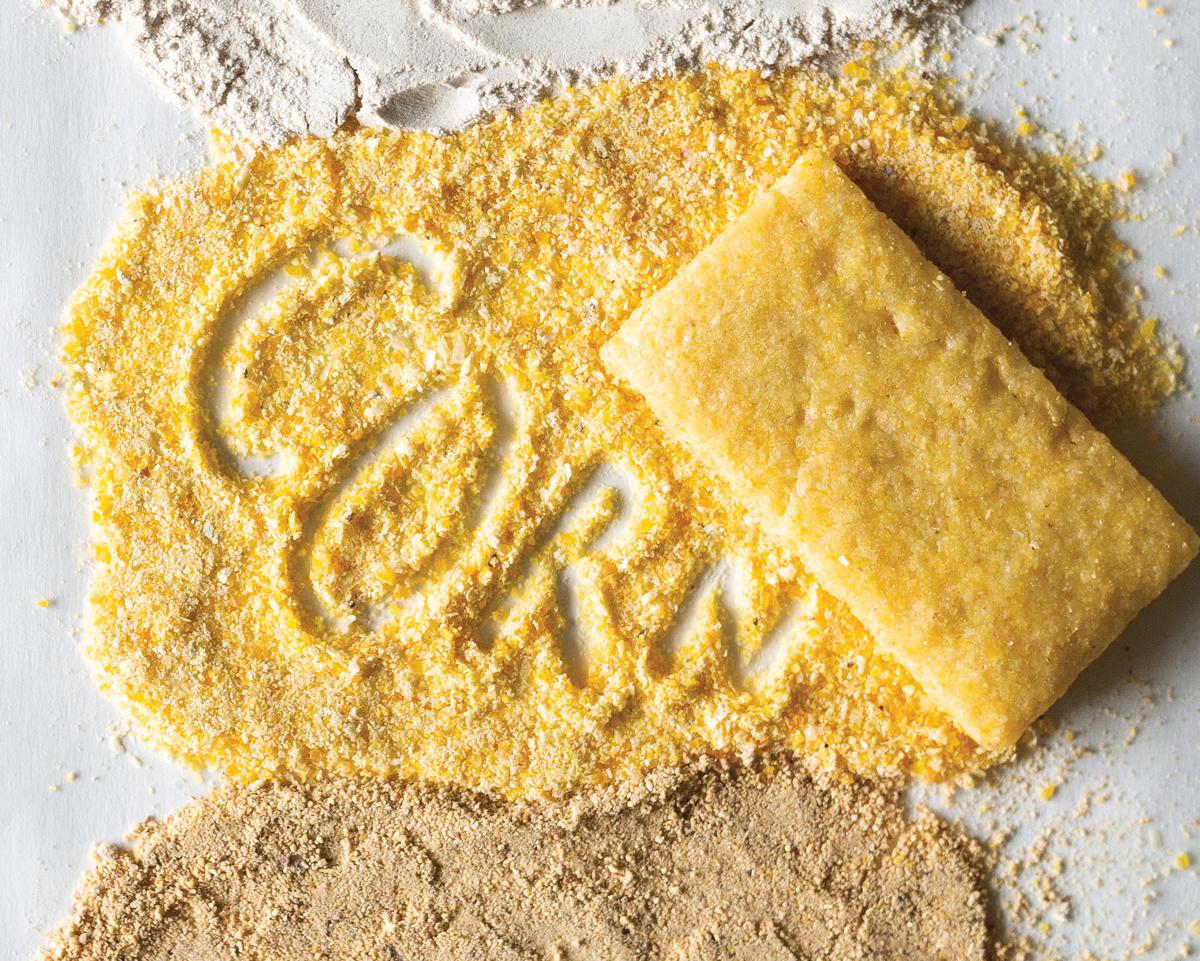 Hn2104 CL Calabash Food Flour Corn Shortbread