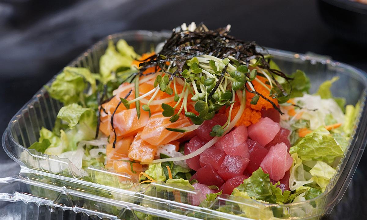 mama kim's Korean Sashimi Salad 1