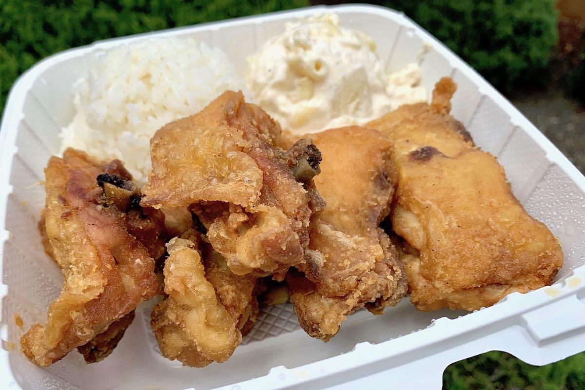 Sakana express fried chicken plate