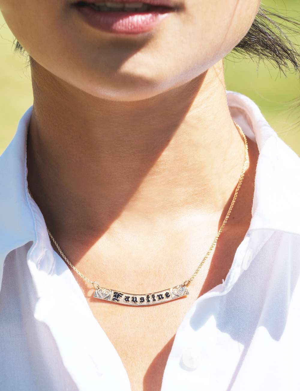 Paradise Collection Horizontal Necklace