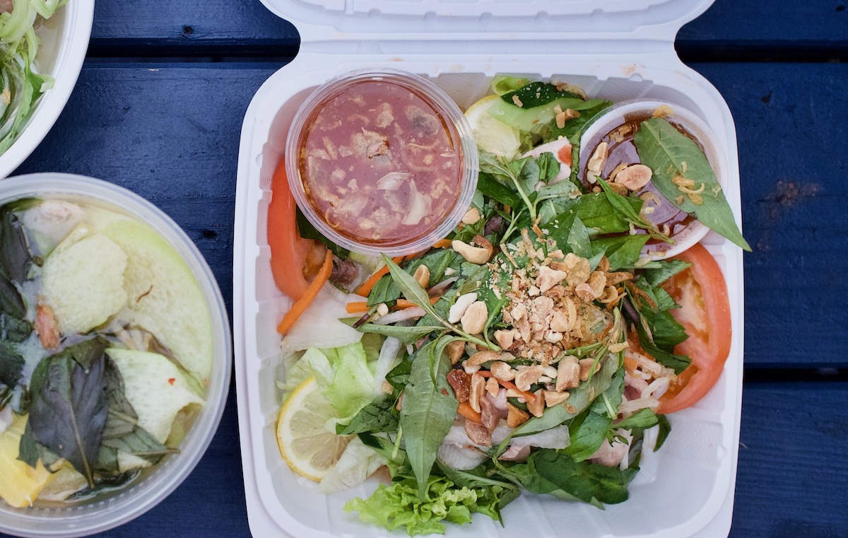 Lemon Beef Salad