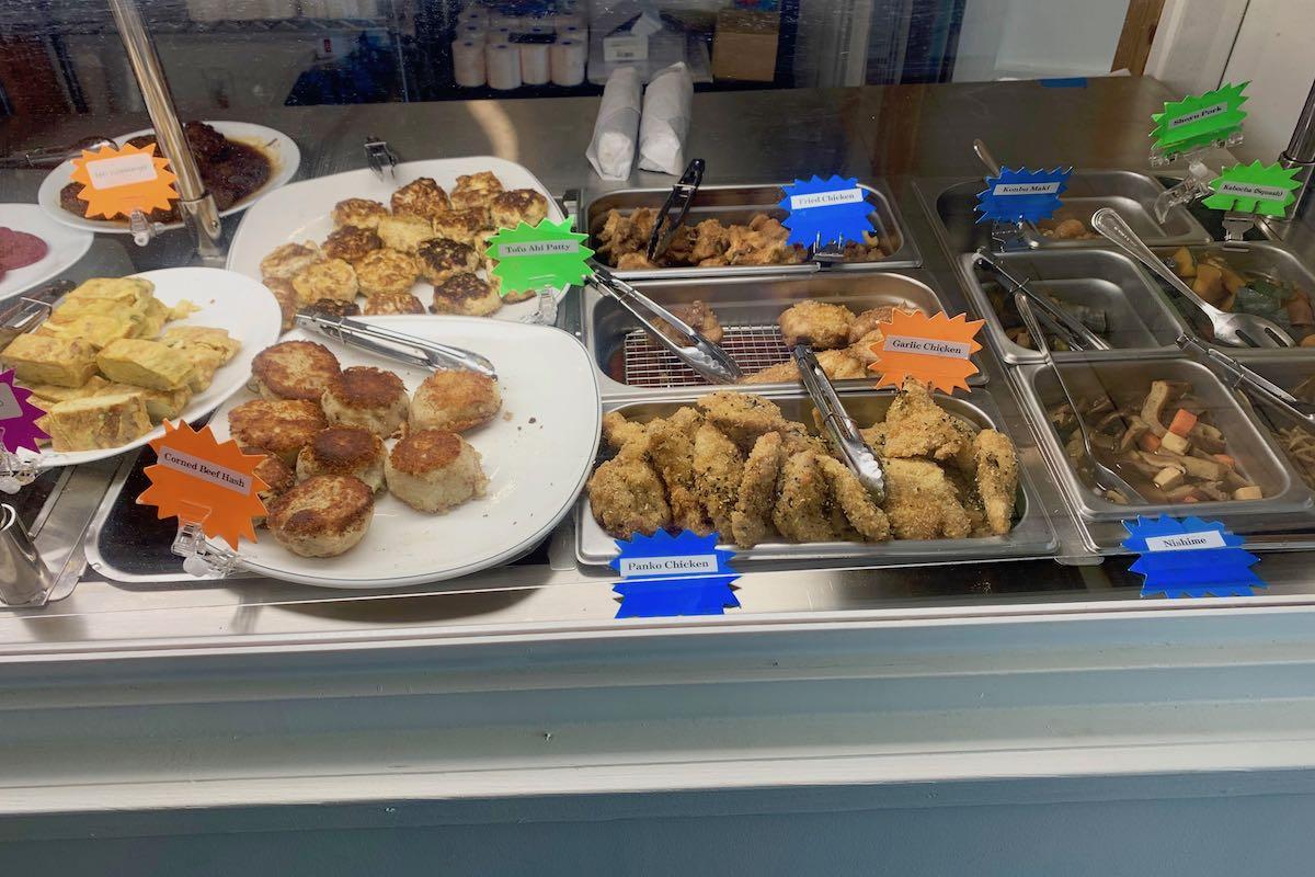 Sakana express assorted okazuya food