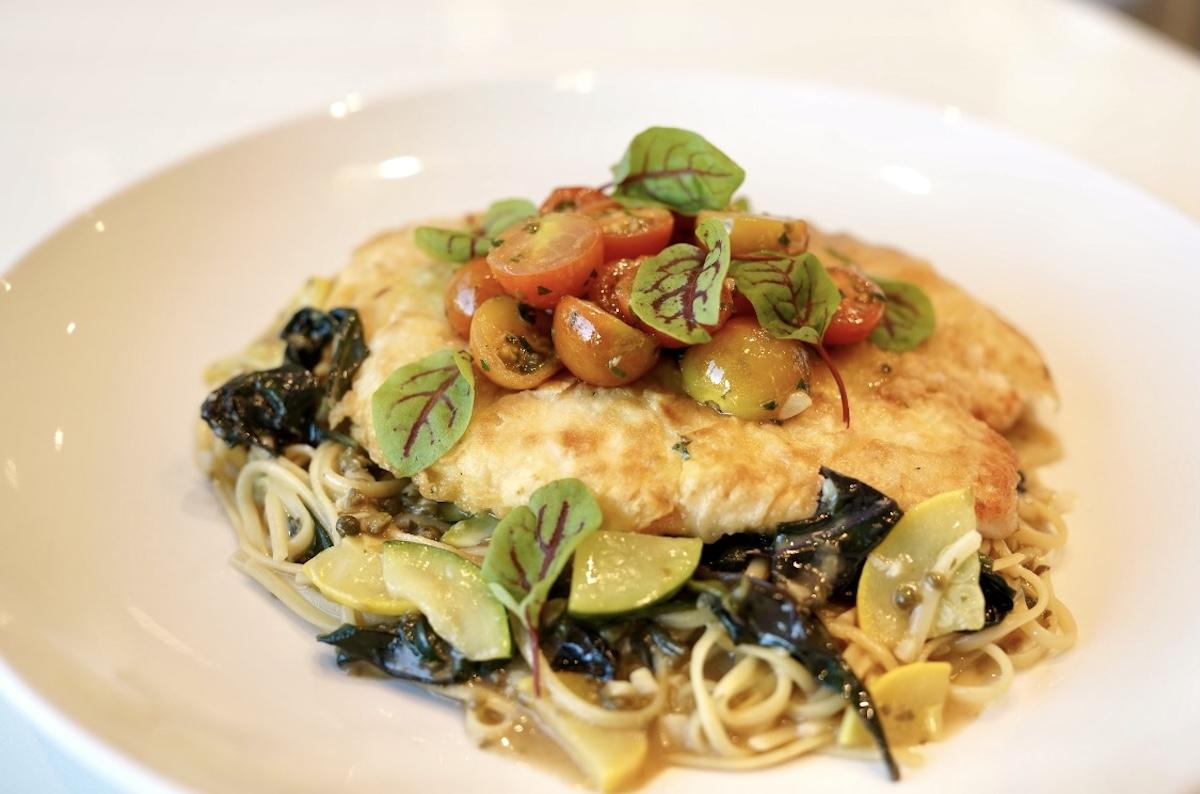 Artizen Cafe Mochi Crusted Fish