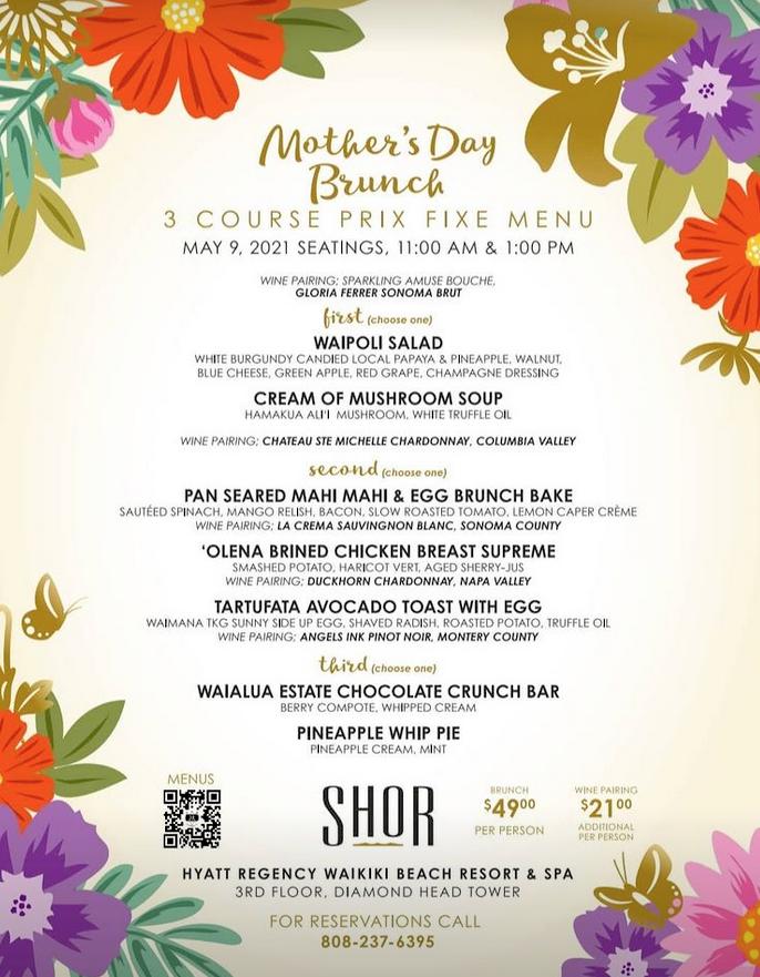 Shor Mothers Day Brunch