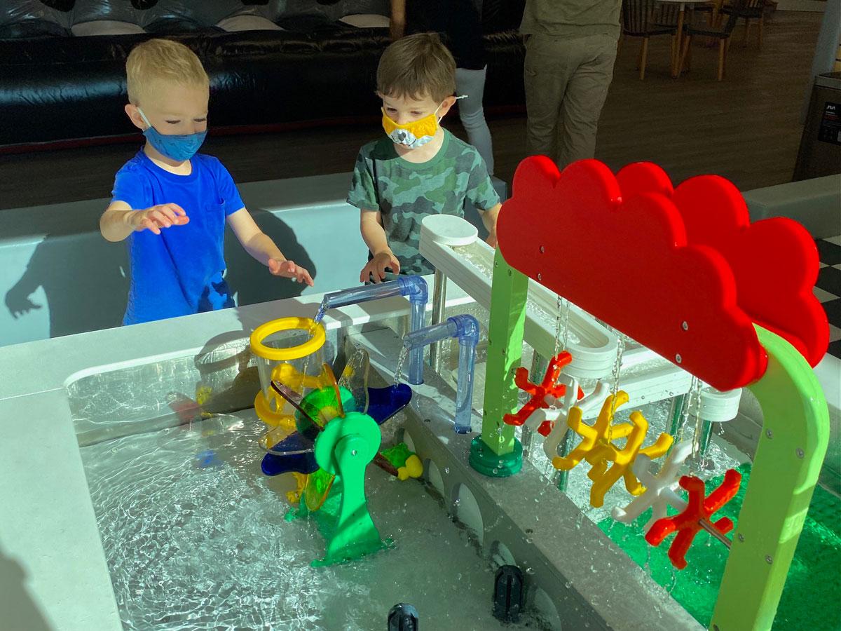 Kids City Adventure Water Table Photo Laura Dornbush