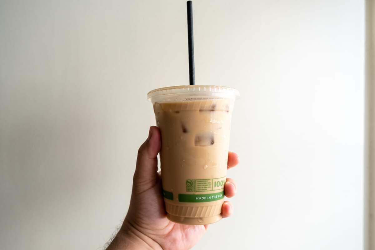 The Curb Kaimuki Iced Latte