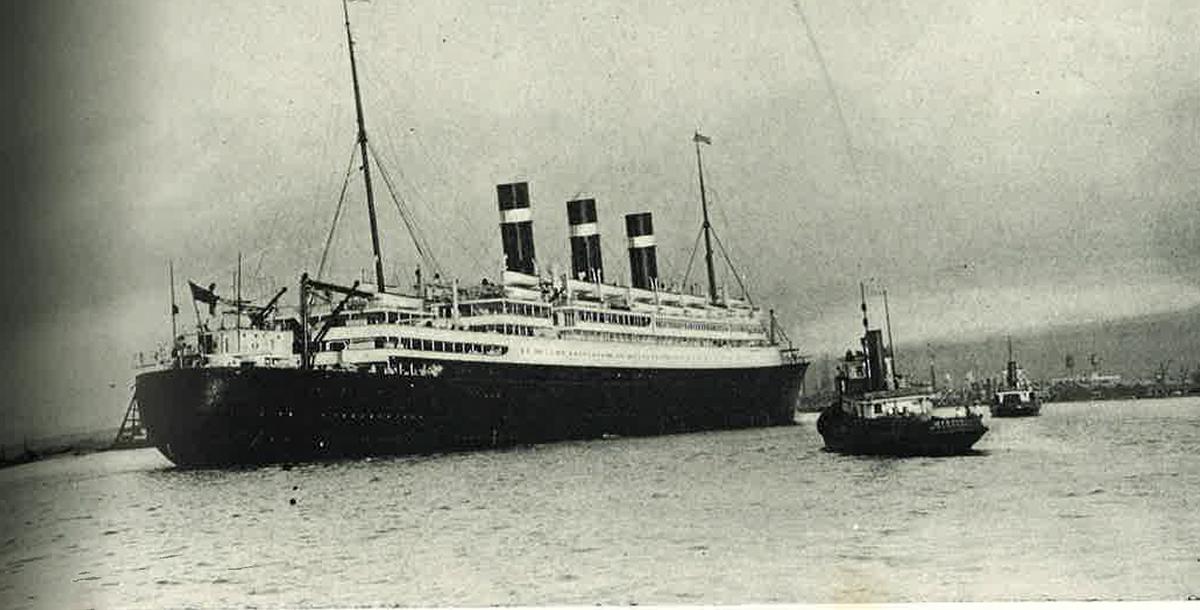 Hn2104 Calabash Fof Ship April 1926