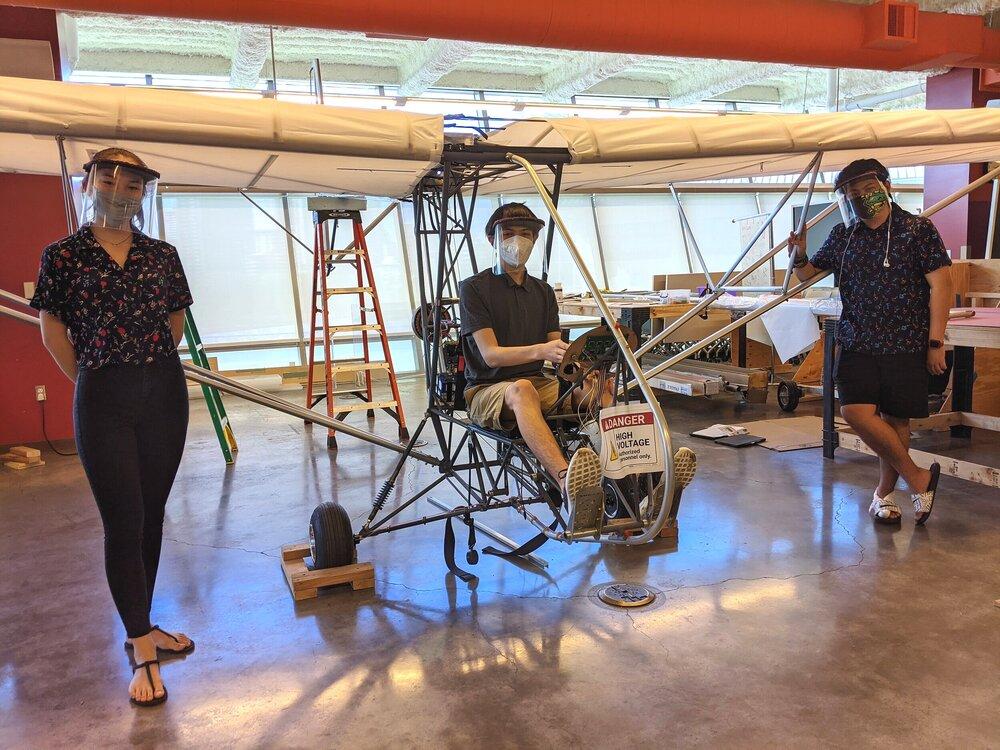 Iolani School E Hawk Plane Project
