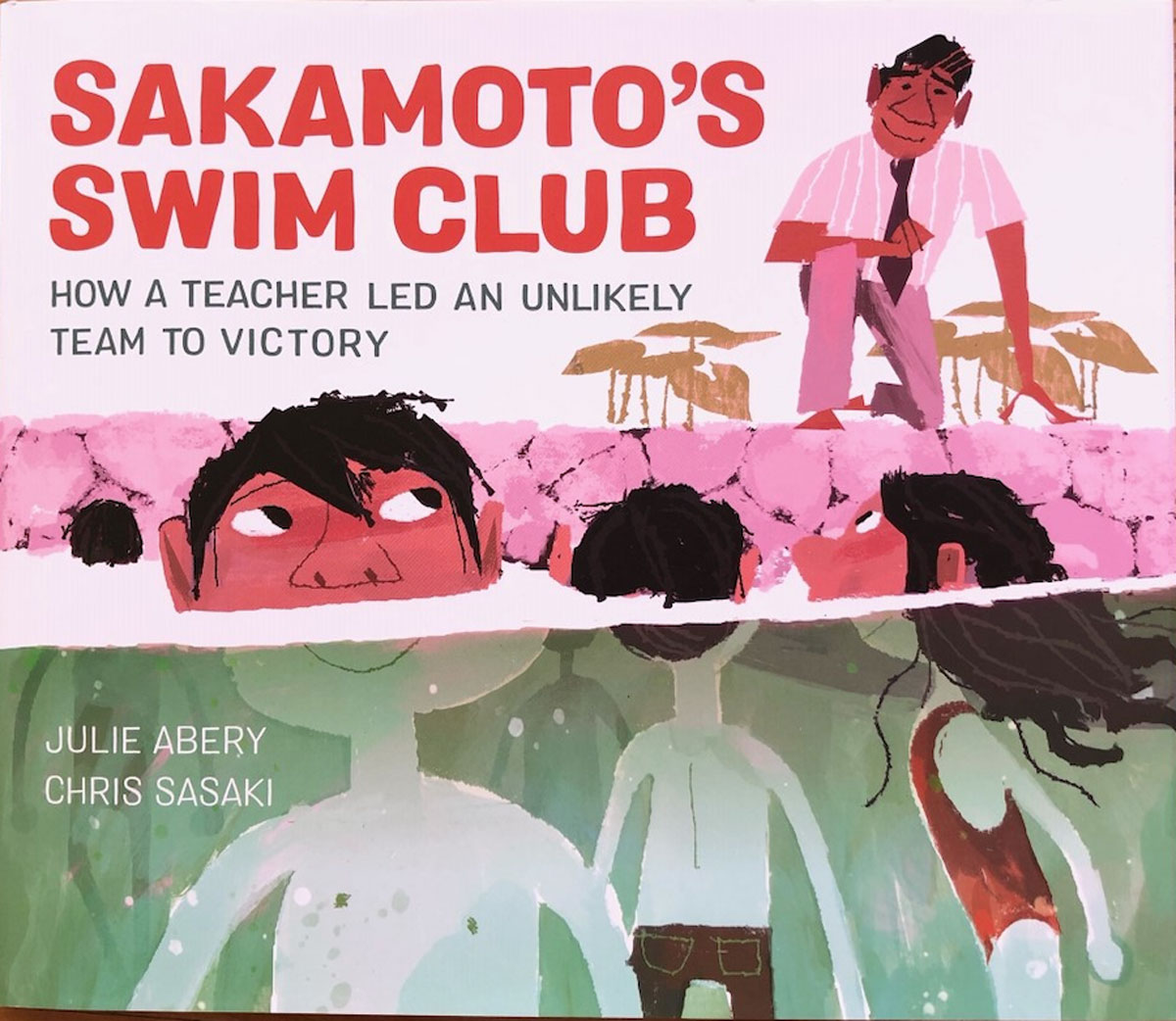 Sakamotos Swim Class Book Cover