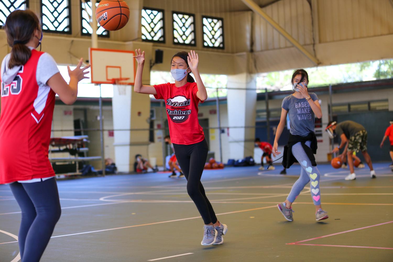 Iolani School Christian School Athletic League Basketball Girls