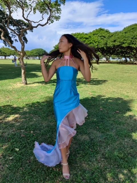Thumbnail Blue Dress 1