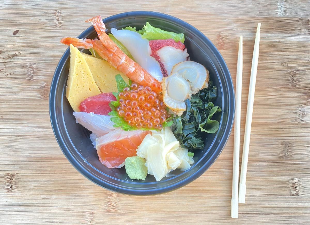 Toshi Sushi Chirashi