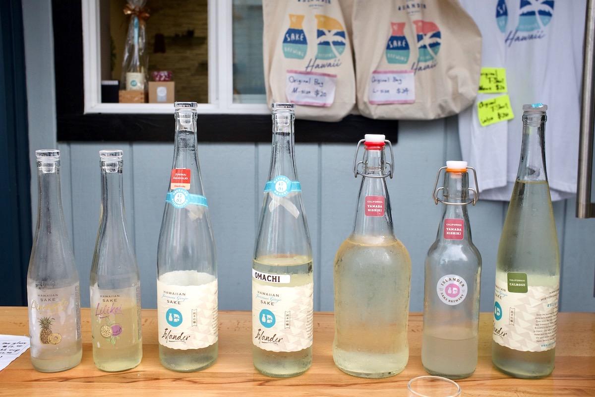 Islander Sake Tasting martha cheng