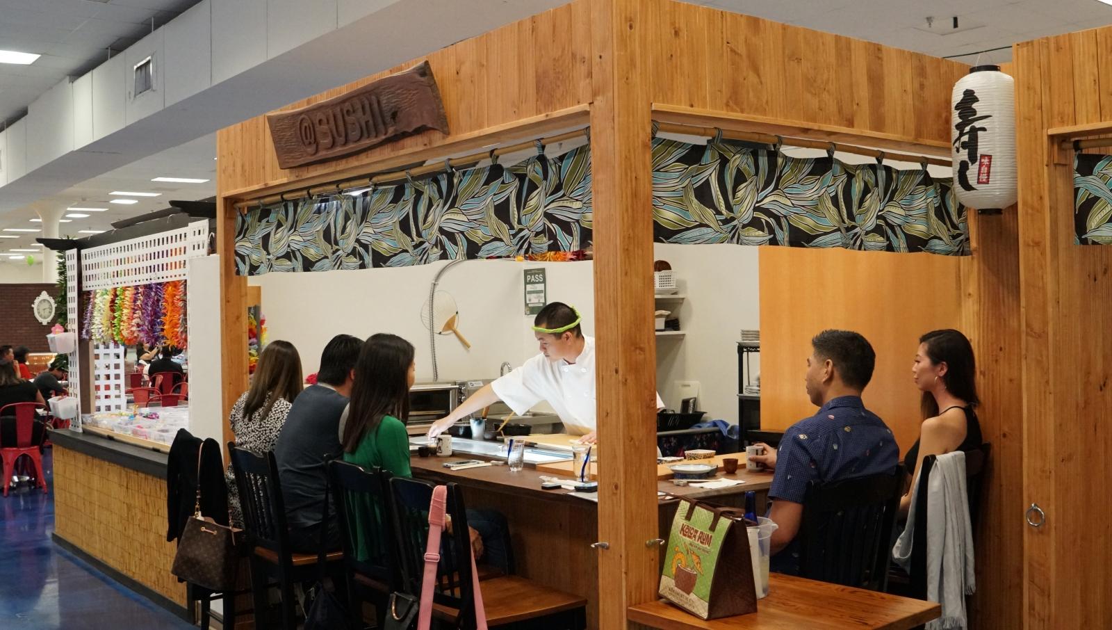 Atsushi Bar at ohana hale marketplace