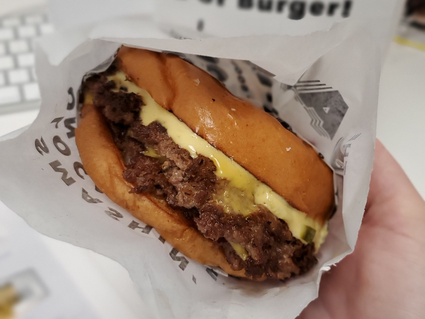 Favorite burger from The Daley