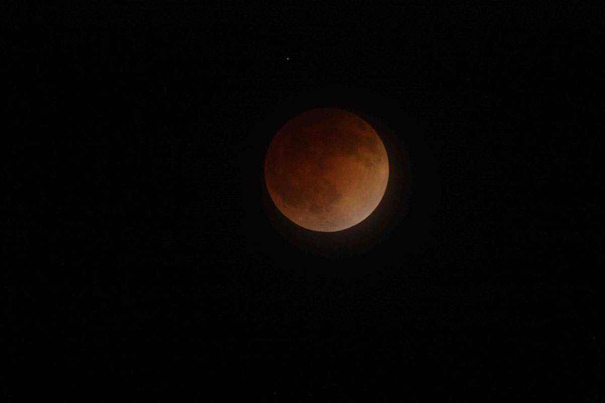 Lunar Eclipse April 15 2014 Nasa Ames Research Center Brian Day