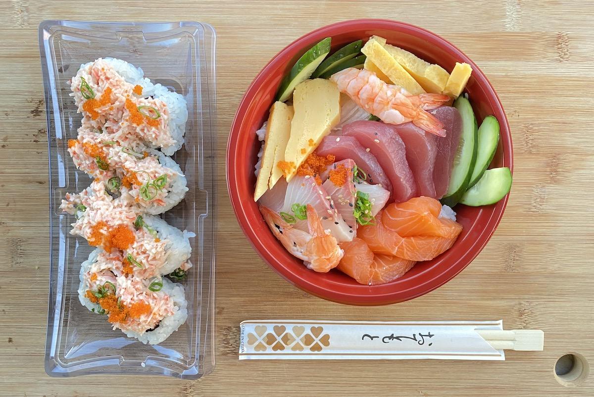 Kai Sushi Chirashi And Super California