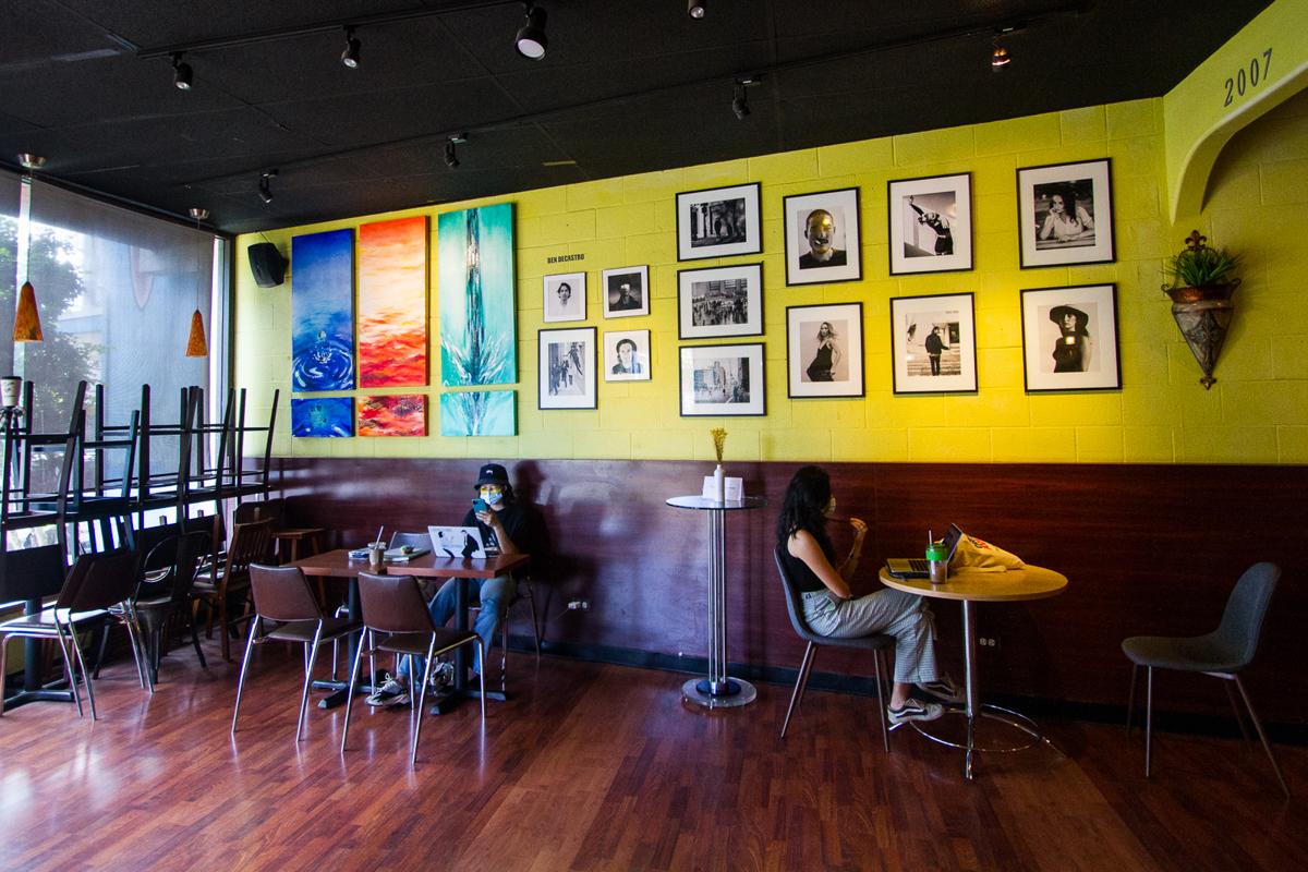 Glazers Cafe interior